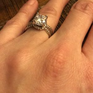 46eafdc66f2 ... Sterling silver and lab created diamond ...